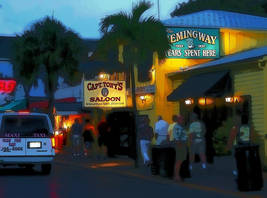 Key West Photograph - The Hemingway by Richard Hemingway