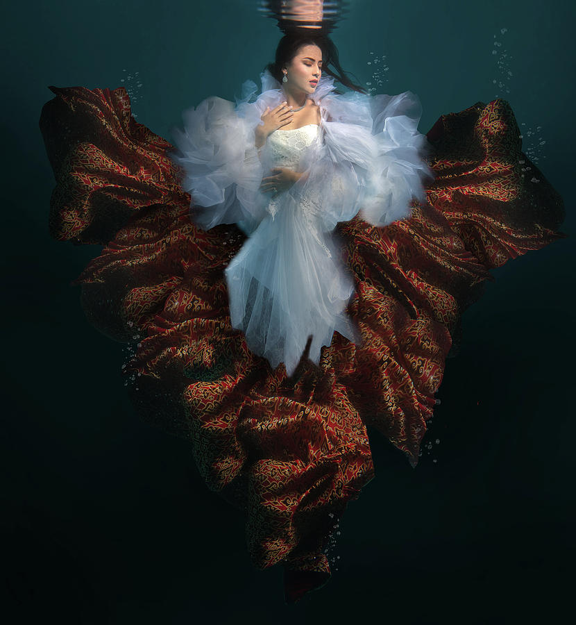 Mermaid Photograph - The Heritage Of Indonesia by Martha Suherman