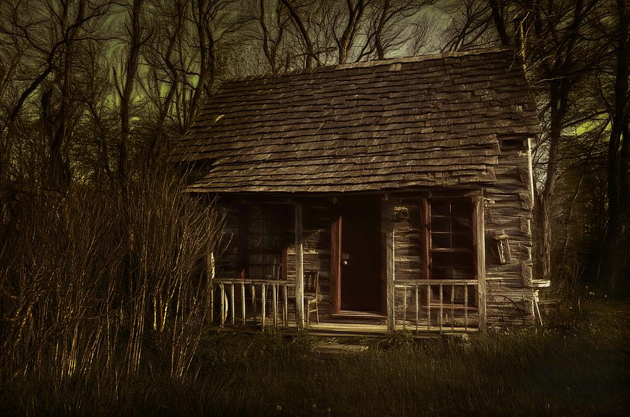Hermits Photograph - The Hermits Cabin by Julie Dant