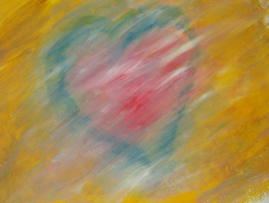Heart Painting - The Hidden Heart by Sue McElligott