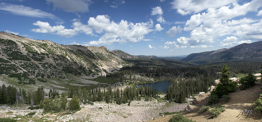 Hike Photograph - The High Uintas by Kenneth Hadlock