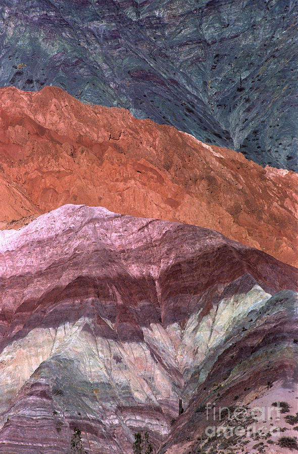 Argentina Photograph - The Hill Of Seven Colors Argentina by James Brunker