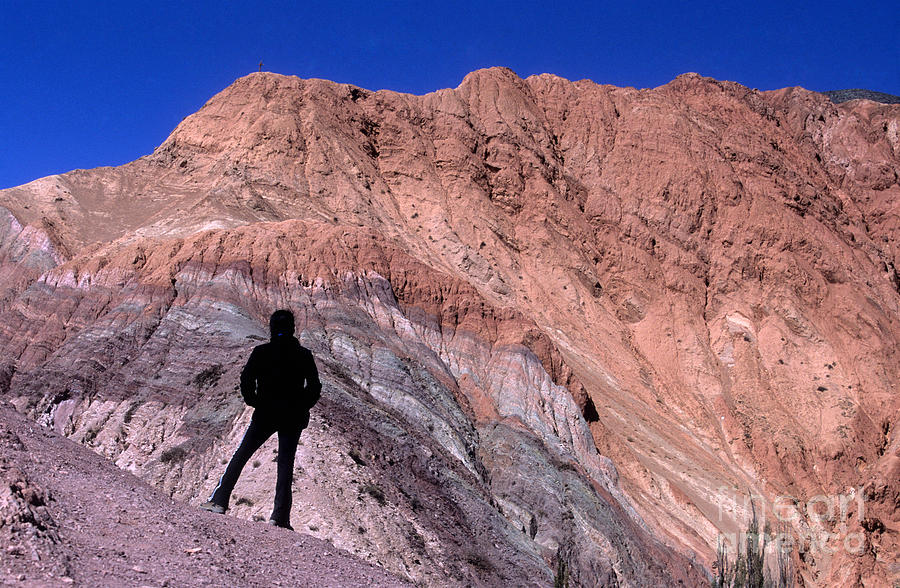 Argentina Photograph - The Hill Of Seven Colours Jujuy Argentina by James Brunker