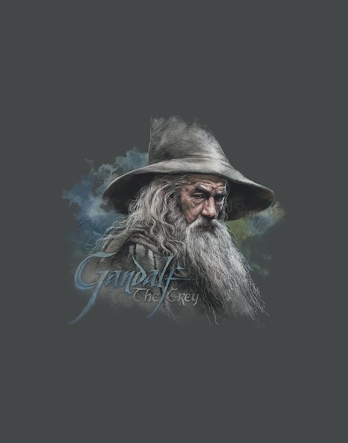 The Hobbit Digital Art - The Hobbit - Gandalf The Grey by Brand A