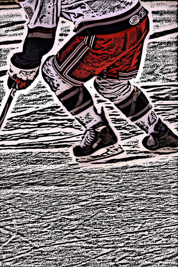 Hockey Photograph - The Hockey Player by Karol Livote