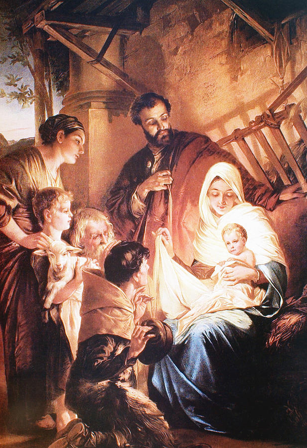The Holy Family Digital Art - The Holy Family by Unknown