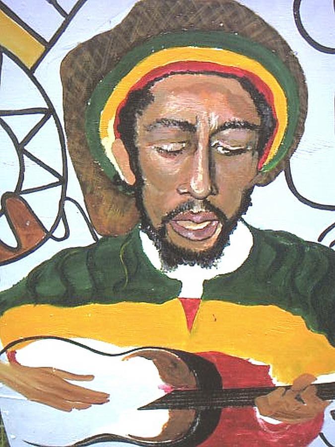 the honorable Robert Nester Marley Painting by Kalikata MBula