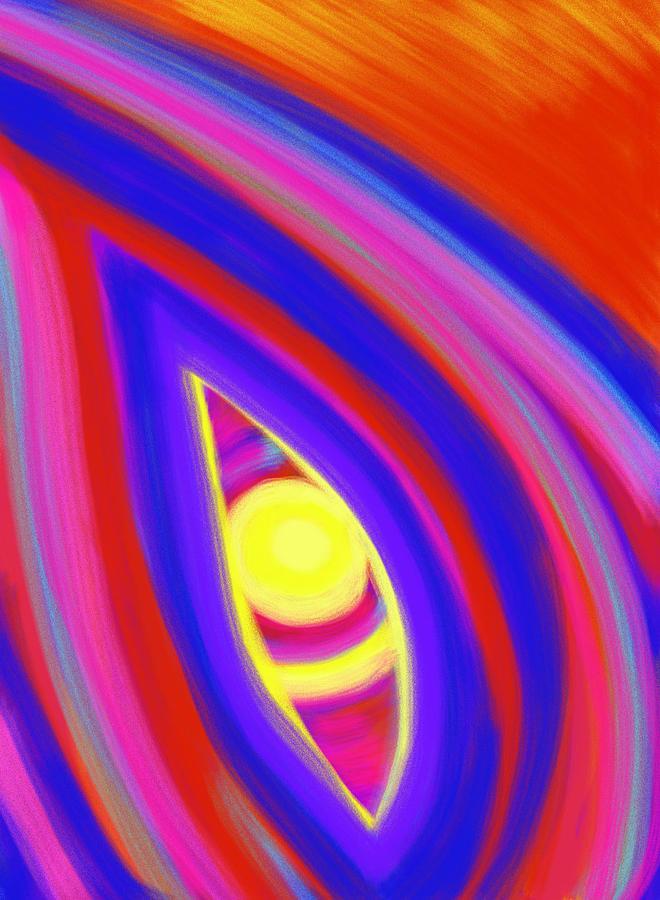 Horizon Painting - The Horizon Of Osirus by Daina White