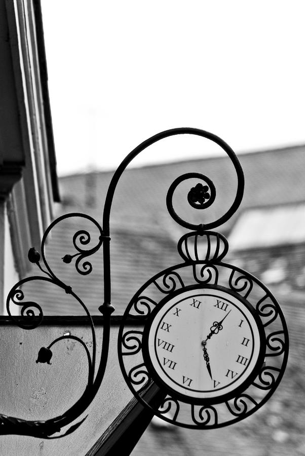 Sign Photograph - The Horologists Sign by Gabor Fichtacher