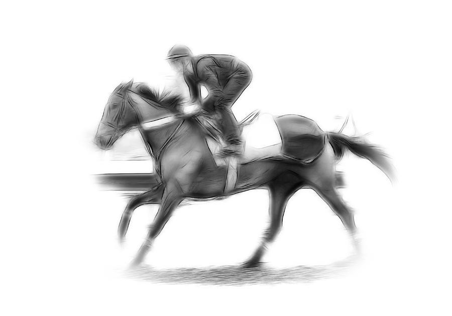 The Horseman Painting by Steve K