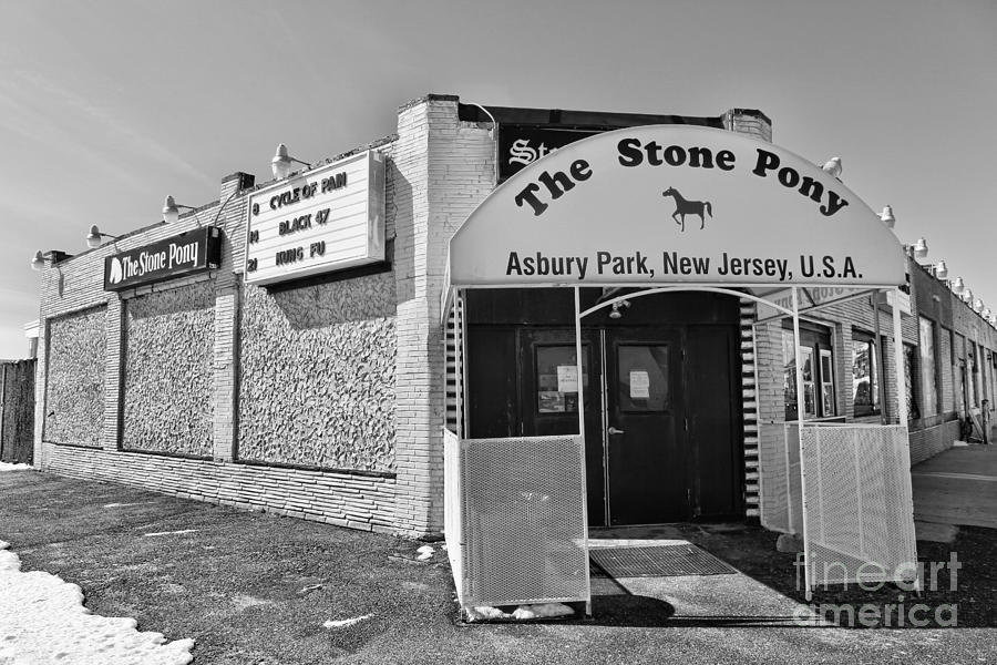 Clarence Clemons Photograph - The House That Bruce Built - The Stone Pony by Lee Dos Santos