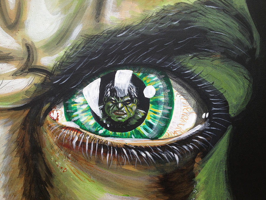 The Hulk Painting - The Hulk by Danny Anderson