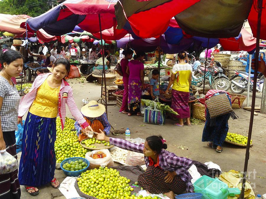 The Hustling Market on 85th Street Zay Cho Street Market Mandalay Burma by PIXELS  XPOSED Ralph A Ledergerber Photography
