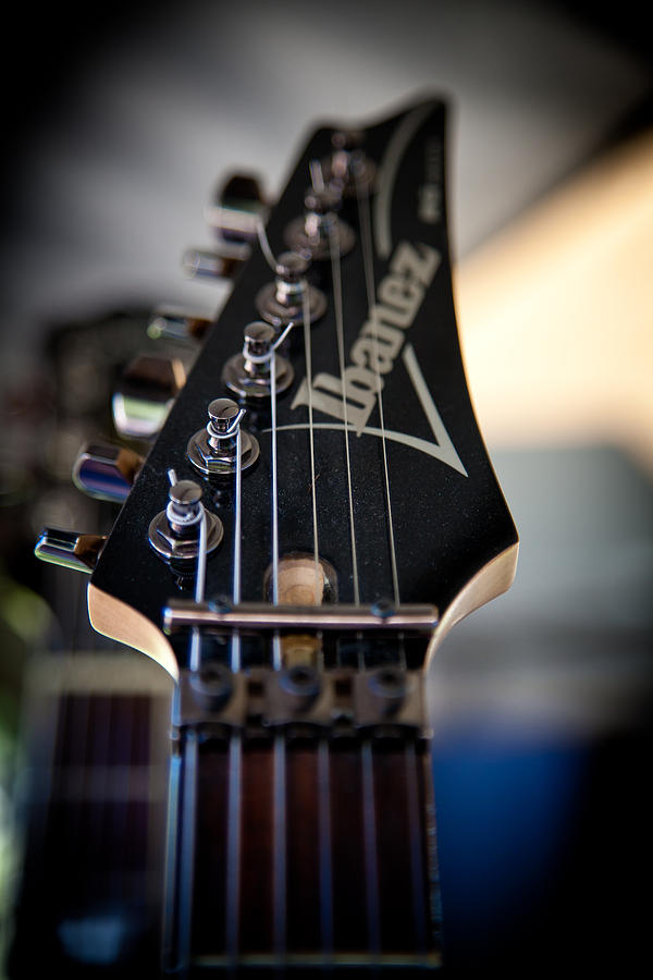 Ibanez Photograph - The Ibanez Guitar by David Patterson