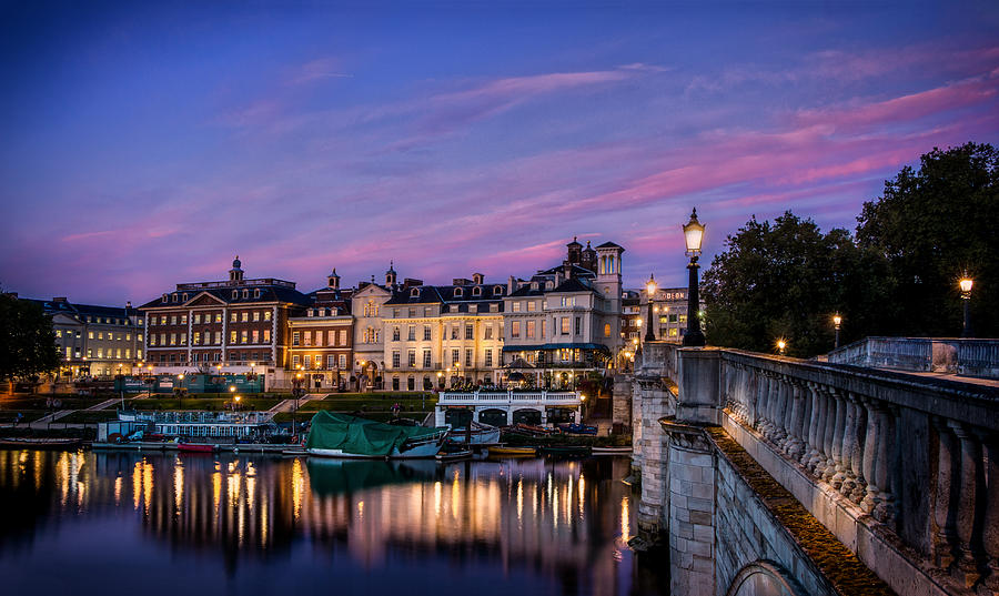 Richmond Photograph - The Iconic Richmond By The River by Leigh Cousins