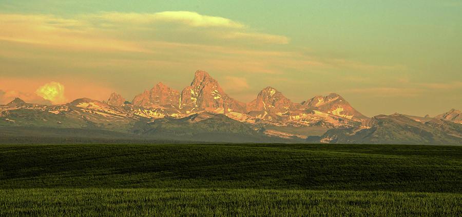 The Idaho Side Of The Grand Tetons Photograph by ©anitaburke