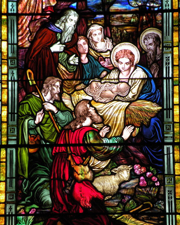 Christmas Cards Photograph - The Incarnation - Madonna And Child by Kim Bemis