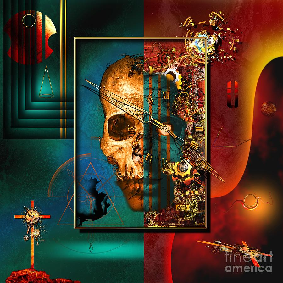 Highly Imaginative Digital Art - The Inconceivability Of The Being by Franziskus Pfleghart