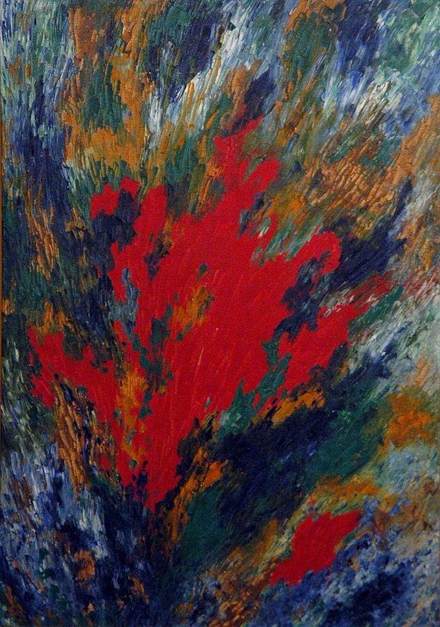 Spirituality Painting - The Inner Self by Kusum Shukla