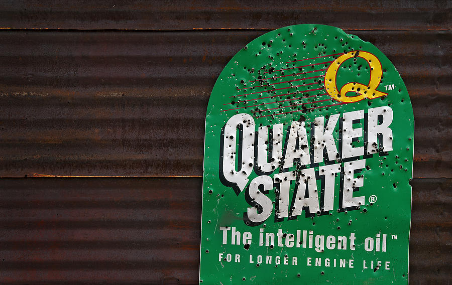 Quaker State Photograph - The Intelligent Oil by Murray Bloom