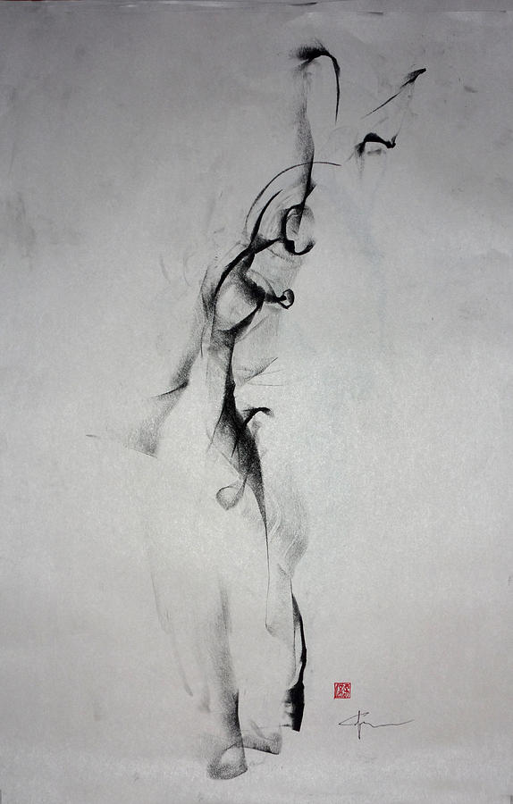 Sensuality Drawing - The Interesting Notion Of Self by John Arthur Ligda