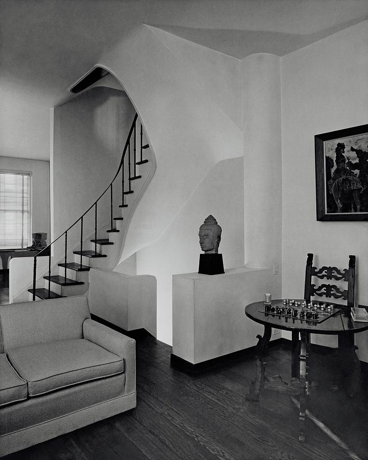 The Interior Of A Manhattan House Photograph by Tom Leonard