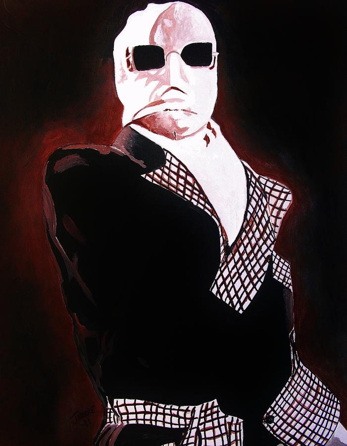 the invisible man painting