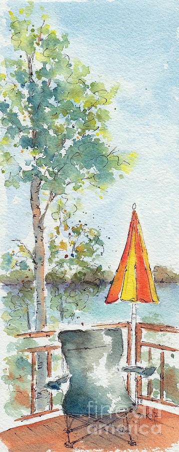 Impressionism Painting - The Invitation by Pat Katz