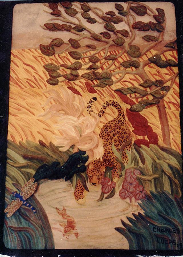 Ceramic Ceramic Art - The Jaguar  by Charles Lucas