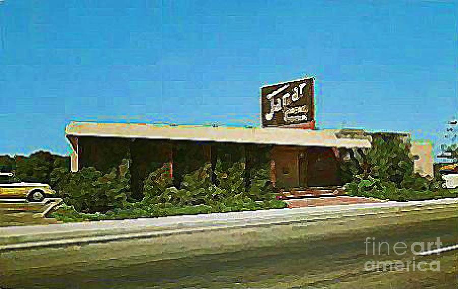 The Jamar Restaurant In La Jolla Ca Around 1960 By Dwight Goss
