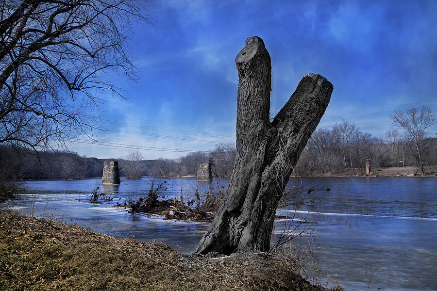 The Photograph - The James River One by Betsy Knapp