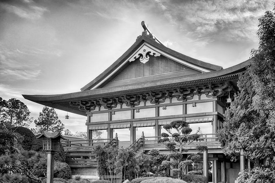 Nature Photograph - The Japan Pavilion by Howard Salmon