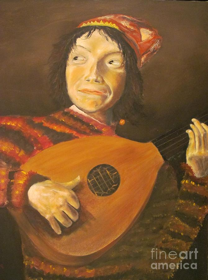 The Jester By Judith Leyster - Replicated