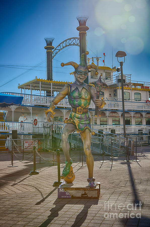 New Orleans Photograph - The Jester by Kay Pickens