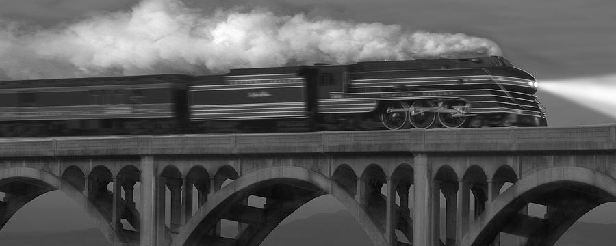 Transportation Photograph - The John Wilks by Mike McGlothlen