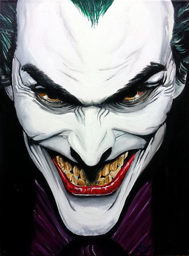 The Joker Painting For Sale