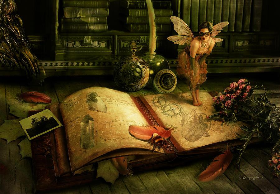 Гифка волшебная книга, стихами