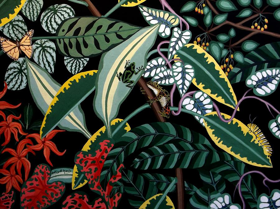 Jungle Painting - The Jungle by Anthony Morris