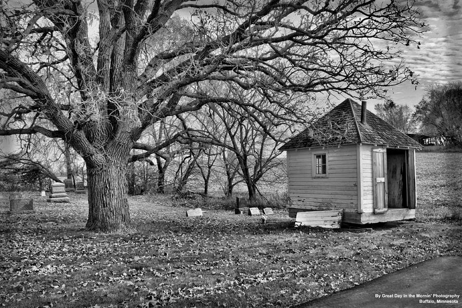 Black And White Photograph - The Keeper by Michelle and John Ressler