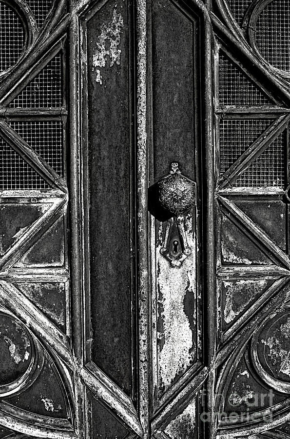 Aged Photograph - The Key Hole by Darren Fisher