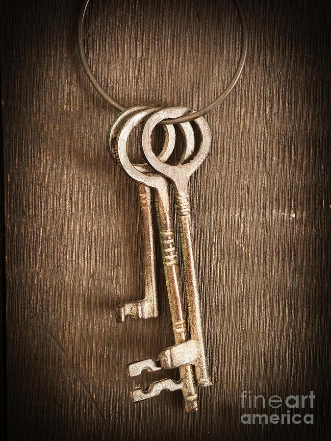 Keys Photograph - The Keys by Edward Fielding