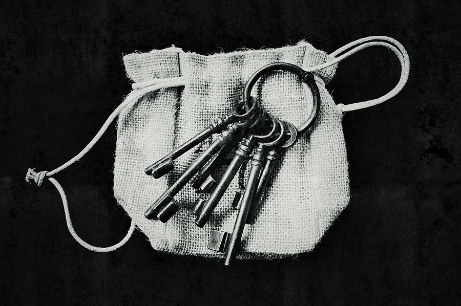 The Keys Photograph - The Keys by Marco Oliveira