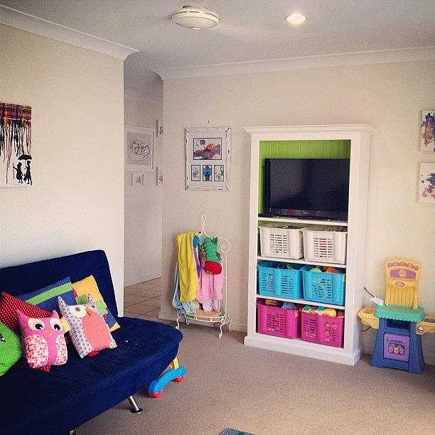 Playtime Photograph - The Kids Toy Room Is Finally Starting by Anita Archard