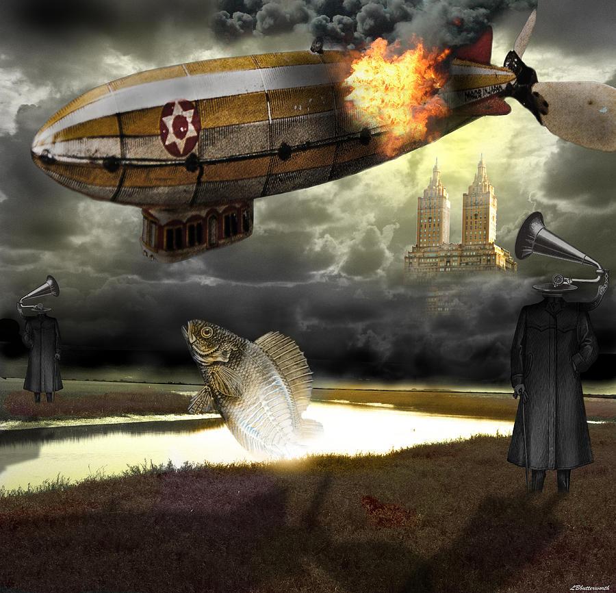 Steam Punk Digital Art - The Kingdom Of Silence by Larry Butterworth