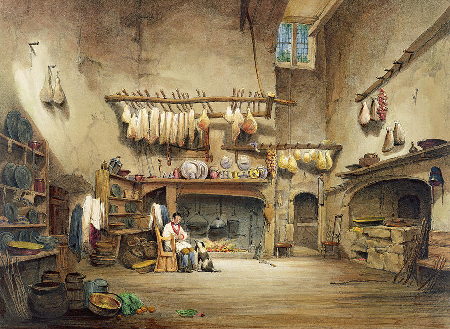 Interior Painting - The Kitchen by English School