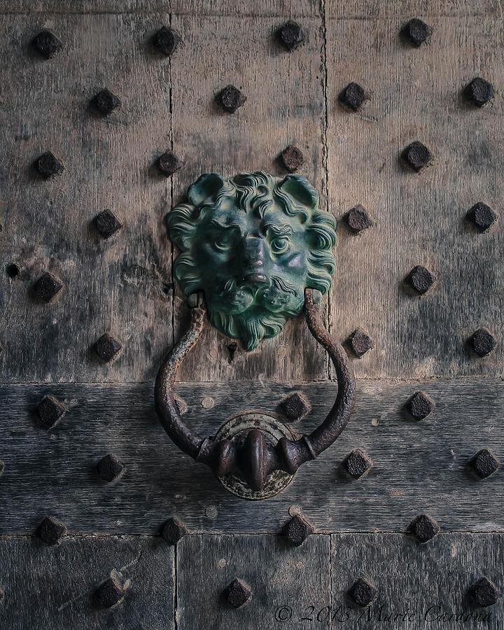 The Knocker At Leeds Castle Photograph by Marie  Cardona