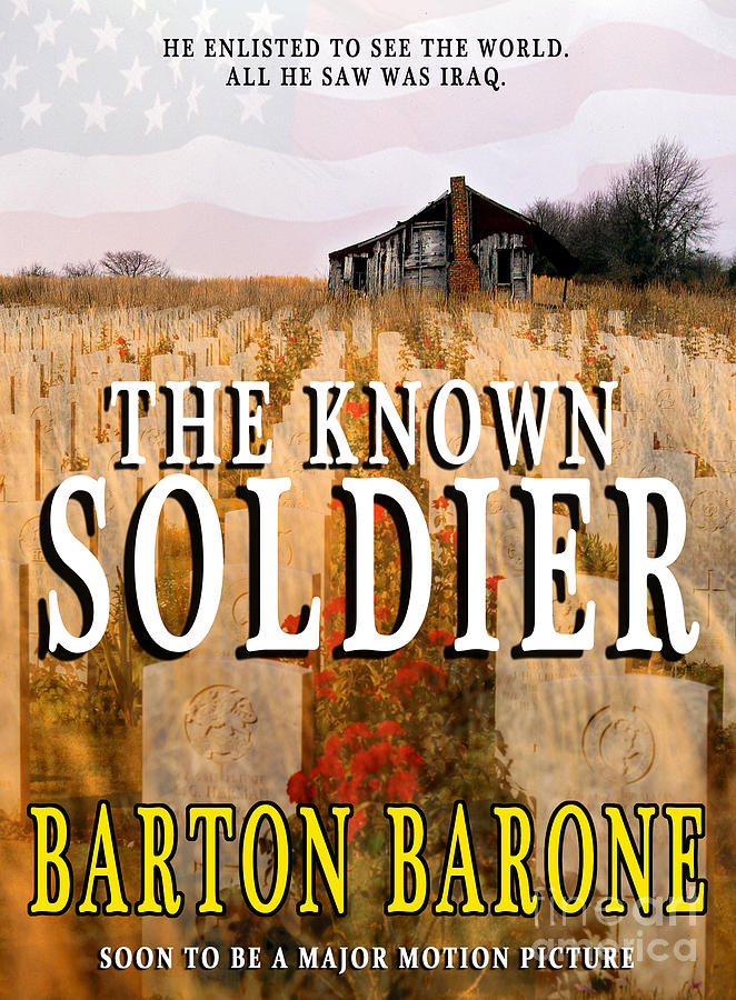 Book Jacket Design Photograph - The Known Soldier by Mike Nellums