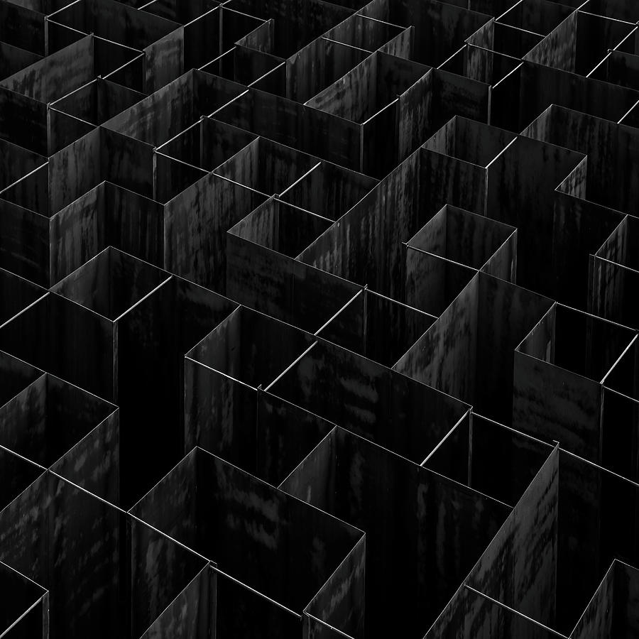 Architecture Photograph - The Labyrinth II by Gilbert Claes
