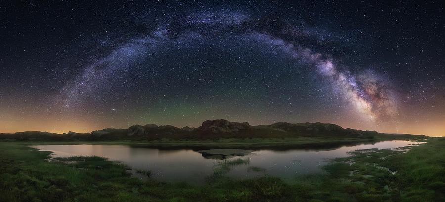 The Lagoon Photograph by Carlos F. Turienzo