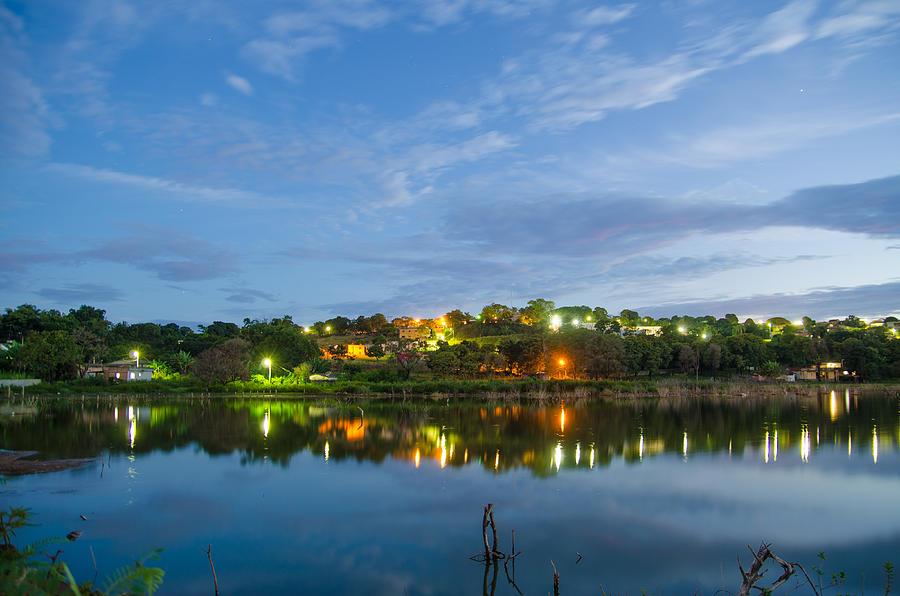 Lake Photograph - The Lake At Night by Joab Souza